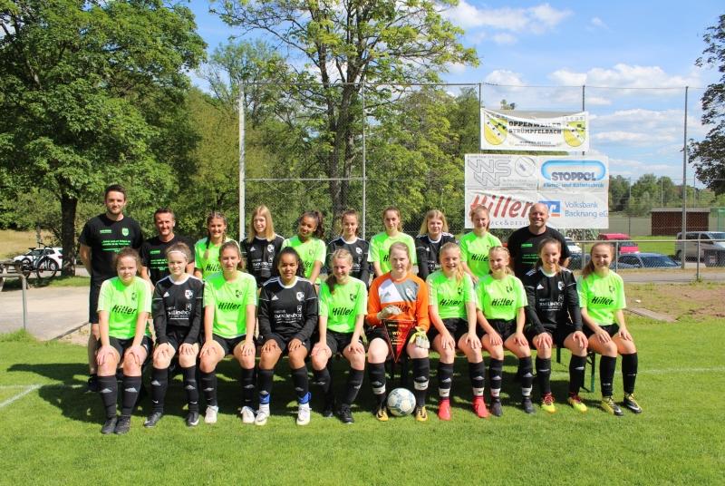 Unsere B-Mädels haben sich im Laufe der Saison einfach zu einem klasse Team entwickelt!