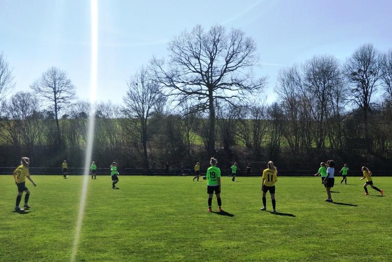 Training vor Ostern bei ca 0 Grad, gegen Michfeld gabs Sonne satt