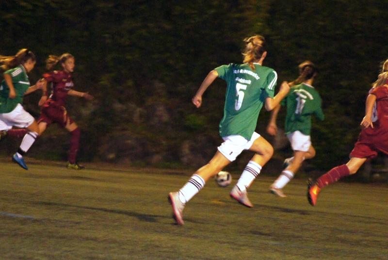 Knappes 0:2 im wfv-Pokal... das Mix-Team aus B- und C-Juniorinnen überzeugte trotzdem